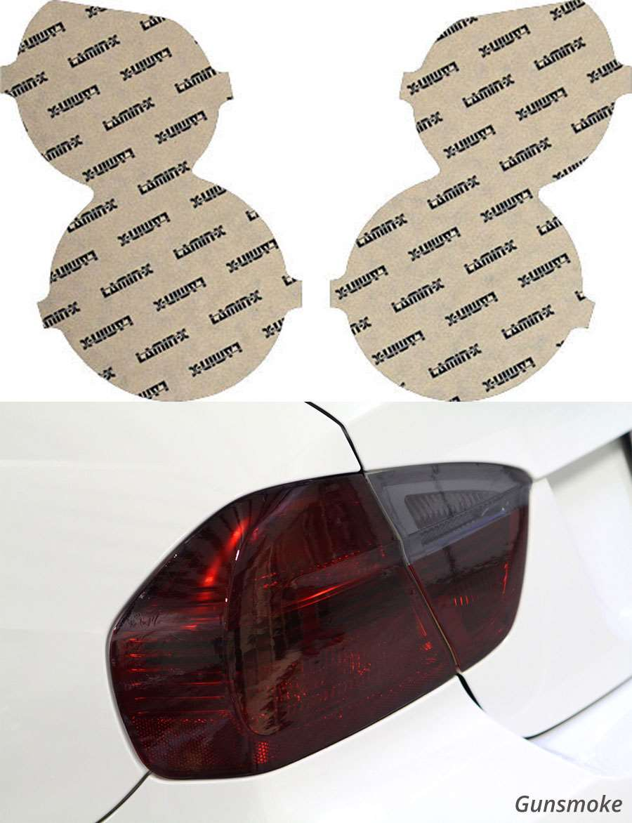 Chevrolet Sonic Sedan 12-16 Gunsmoke Tail Light Covers Lamin-X CH230G
