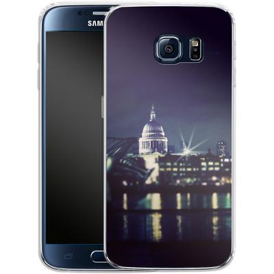 Samsung Galaxy S6 Silikon Handyhuelle - Thames von Ronya Galka