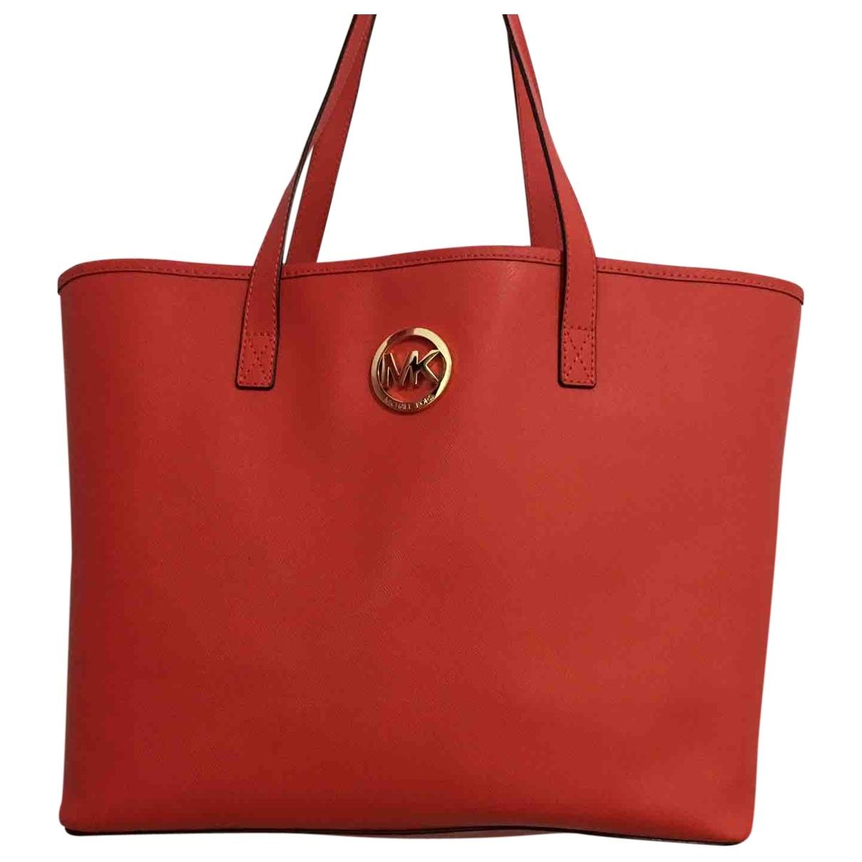 Michael Kors \N Red Leather handbag for Women \N