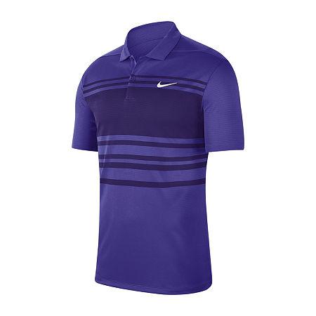 Nike Golf Mens Short Sleeve Polo Shirt, Small , Purple