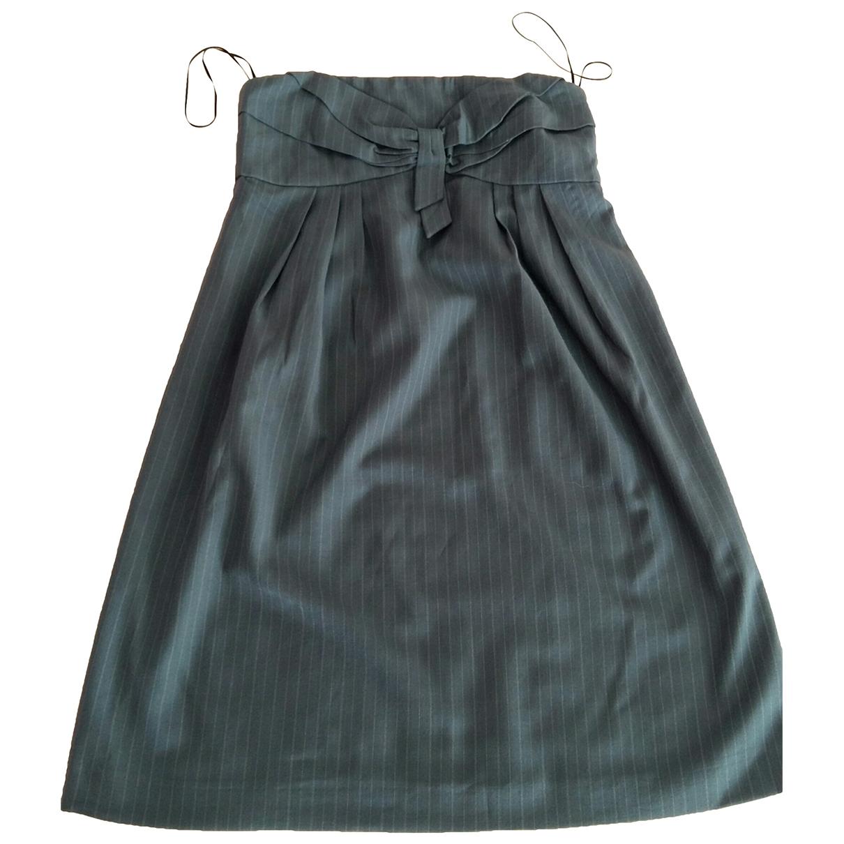See By Chloe \N Kleid in  Grau Wolle