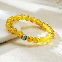 Einfaches Armband mit Perlen
