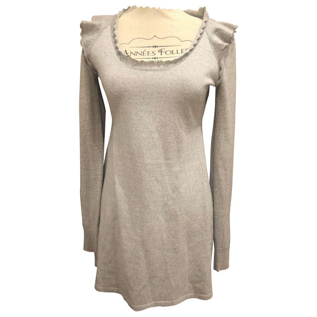 Vanessa Bruno Athe \N Grey dress for Women 36 FR