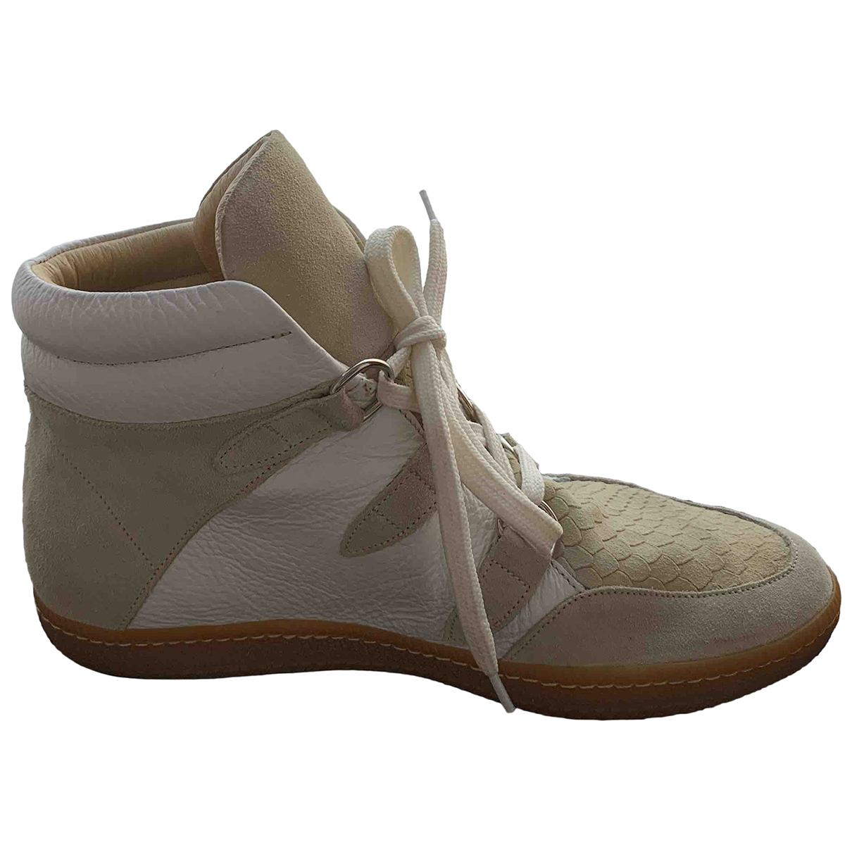 Sandro \N Multicolour Leather Ankle boots for Women 40 EU