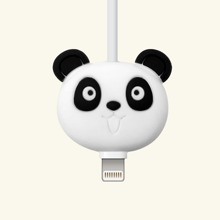 Handy Kabelschutz in Pandaform