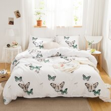 Butterfly Print Sheet Set Without Filler