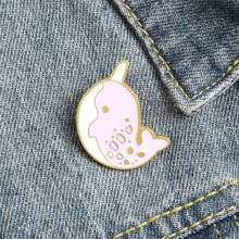 Cartoon Graphic Brooch
