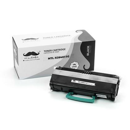 Lexmark X264H11G cartouche de toner remanufacturée noire haute capacité - Moustache®