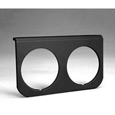 Auto Meter Black Aluminum Gauge Panel (Black) - 2237