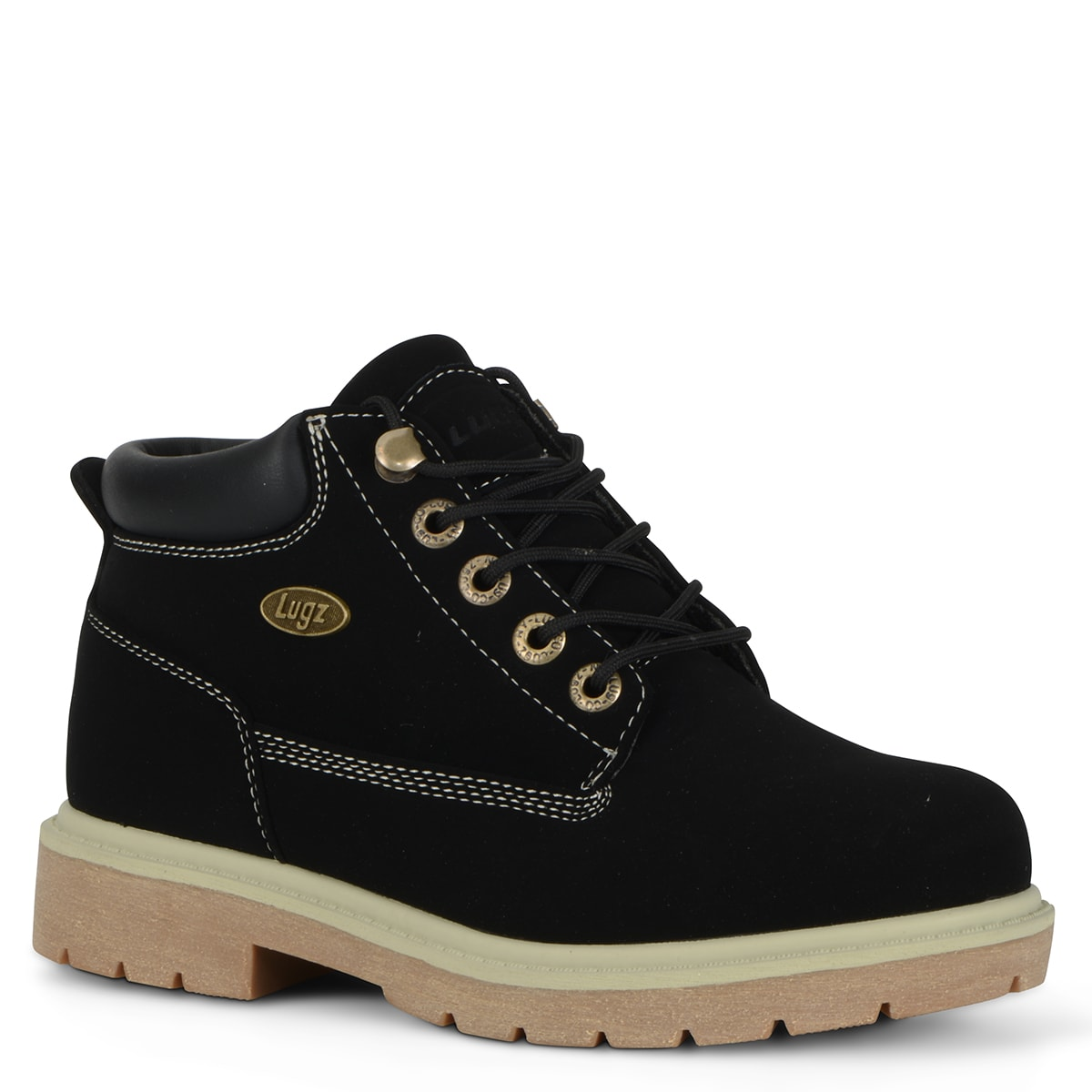 Women's Drifter Lx Chukka Boot (Choose Your Color: BLACK/CREAM/GUM, Choose Your Size: 10.0)