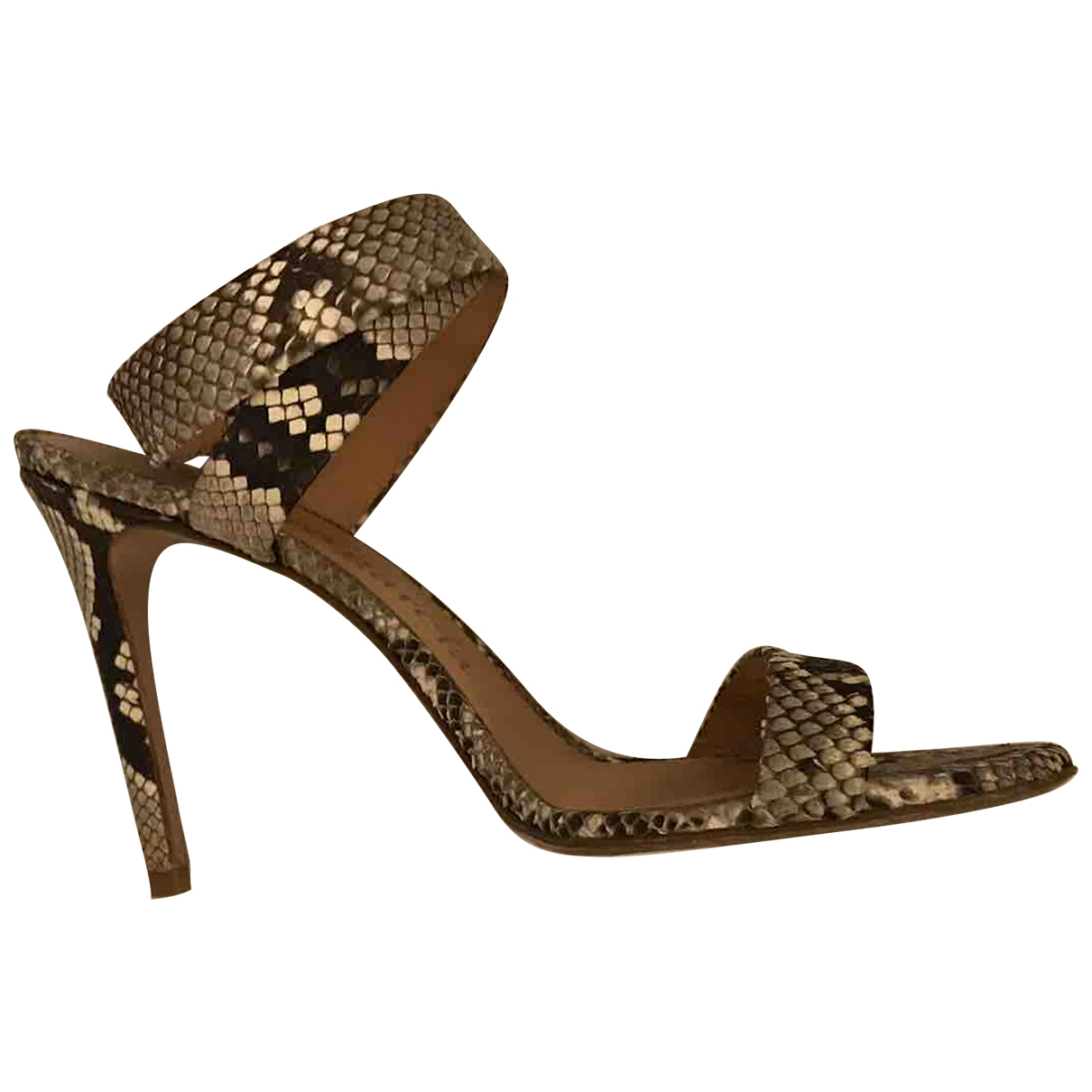 Pedro Garcia \N Multicolour Python Sandals for Women 40 EU