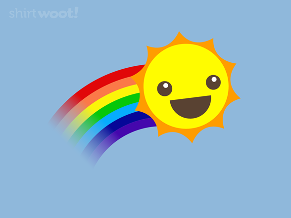 March Gladness Sun T Shirt