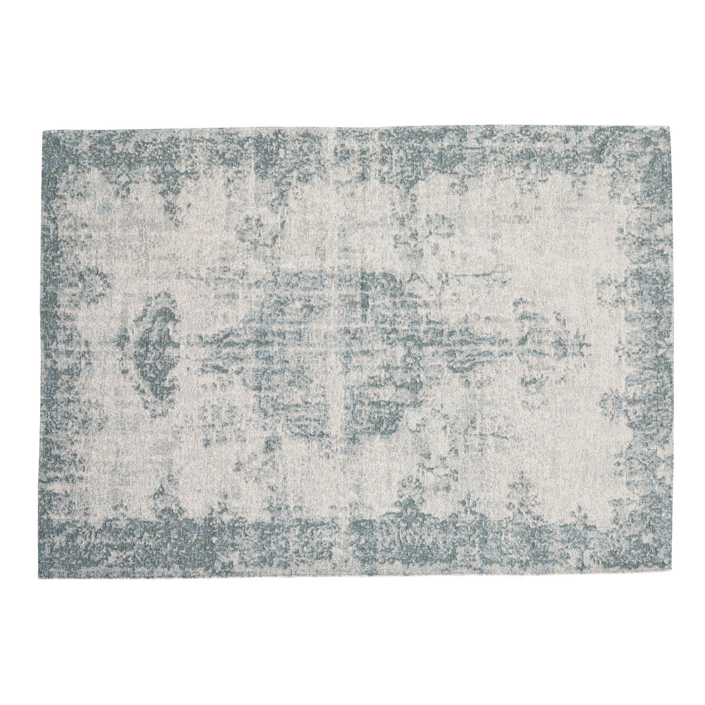 Teppich, 155 x 230cm, blau
