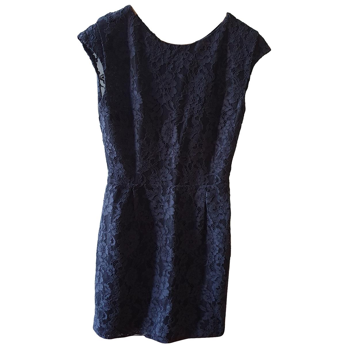 Sandro \N Black Cotton dress for Women 36 FR