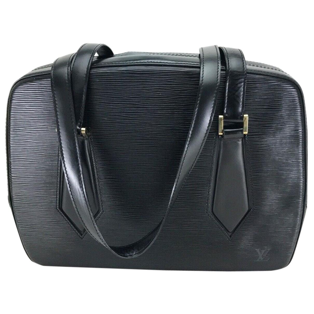 Louis Vuitton N Black Leather handbag for Women N