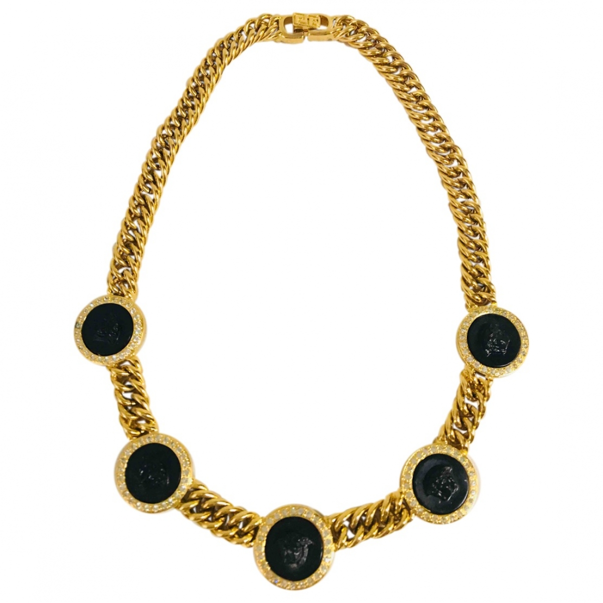 Gianni Versace \N Gold Metal necklace for Women \N
