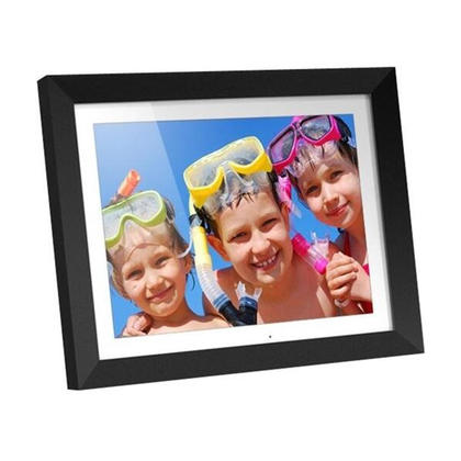 Aluratek 15 LCD Screen 2GB Black Digital Photo Frame