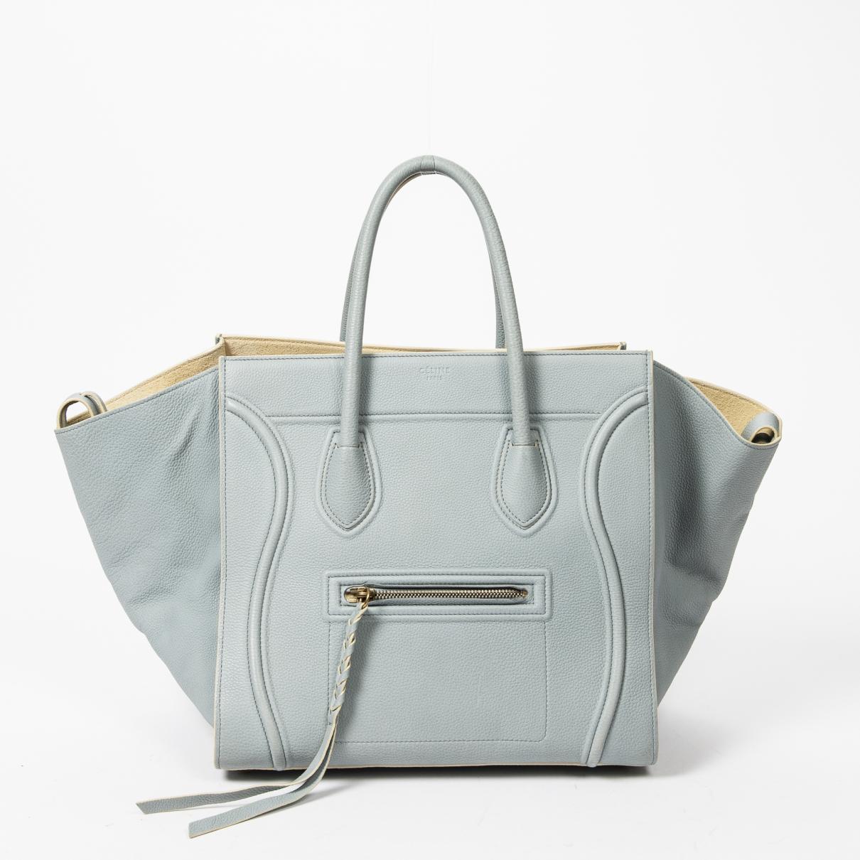 Celine - Sac a main Luggage Phantom pour femme en cuir