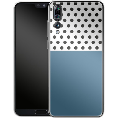 Huawei P20 Pro Silikon Handyhuelle - Blue Dots von caseable Designs