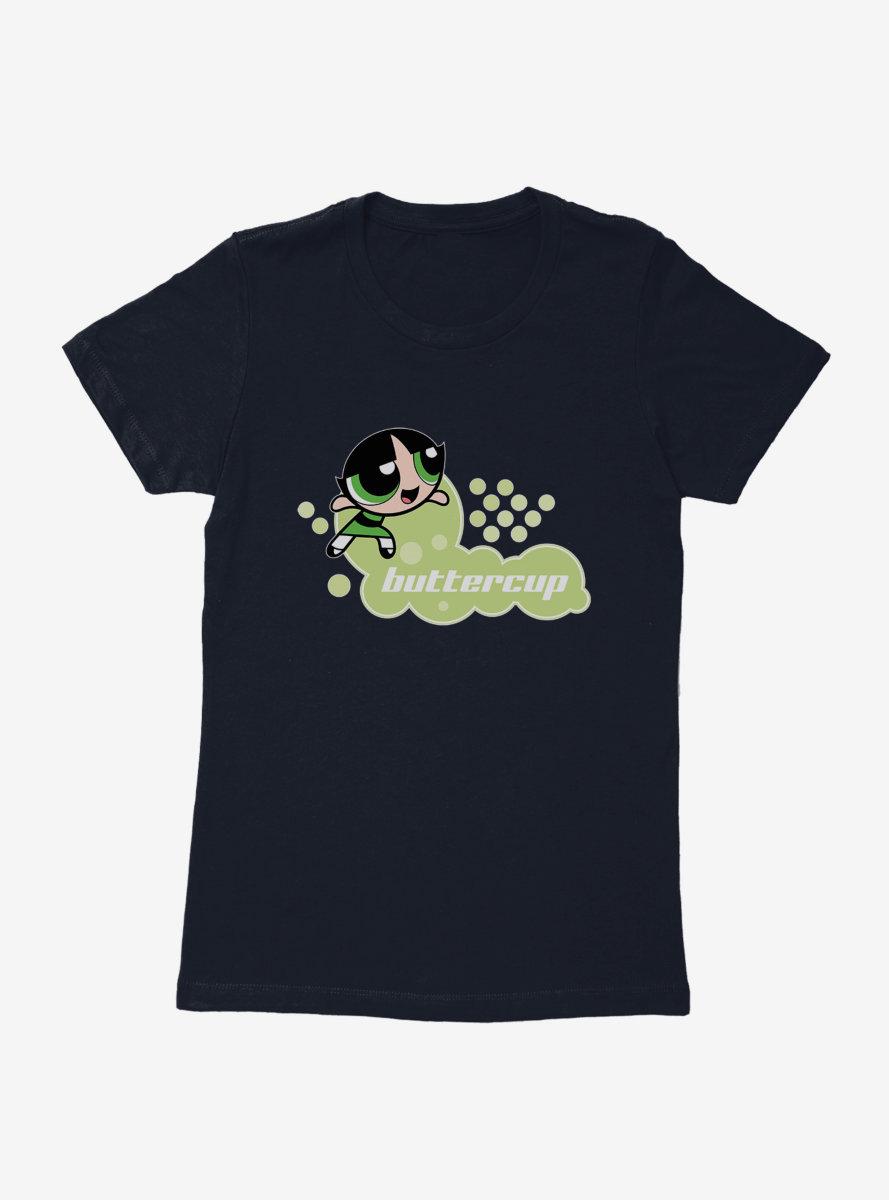 The Powerpuff Girls Buttercup Pose Womens T-Shirt
