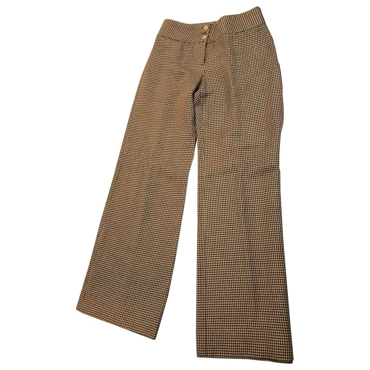 Pantalon de traje de Lana Giorgio Armani