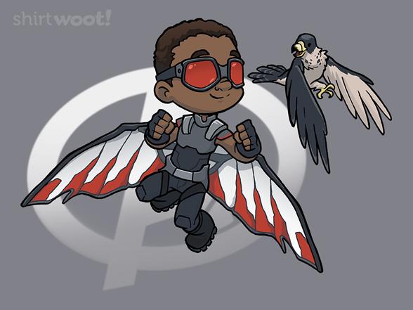 Winged Warrior T Shirt