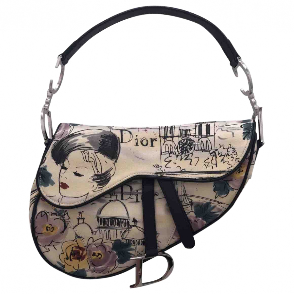 Dior Saddle Cloth handbag for Women \N