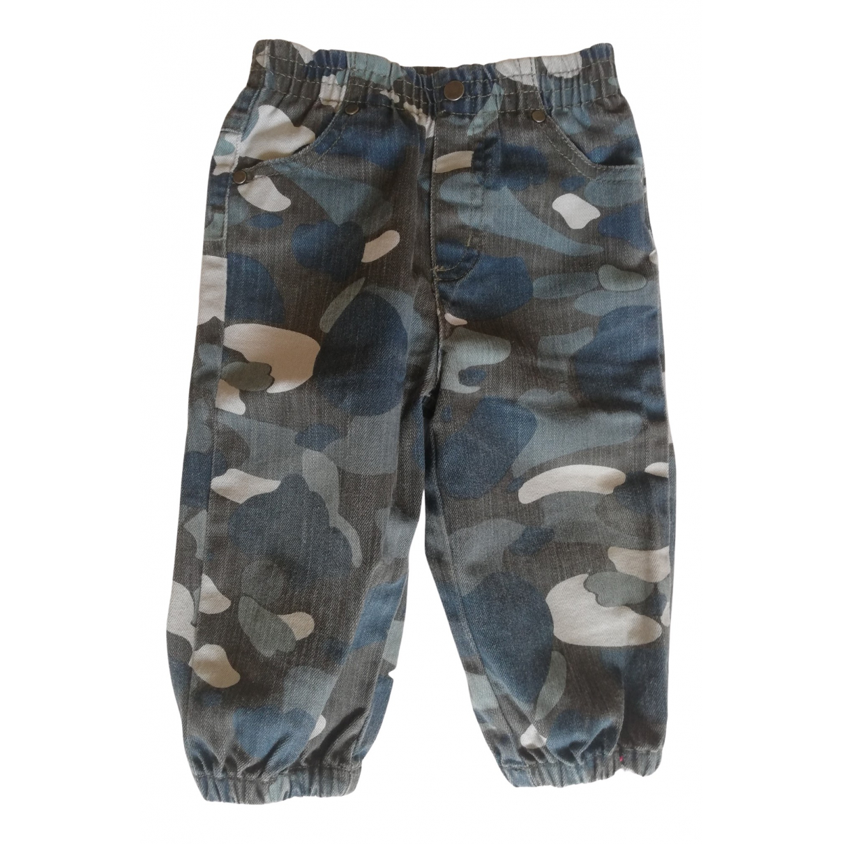 Stella Mccartney - Pantalon   pour enfant en denim - multicolore