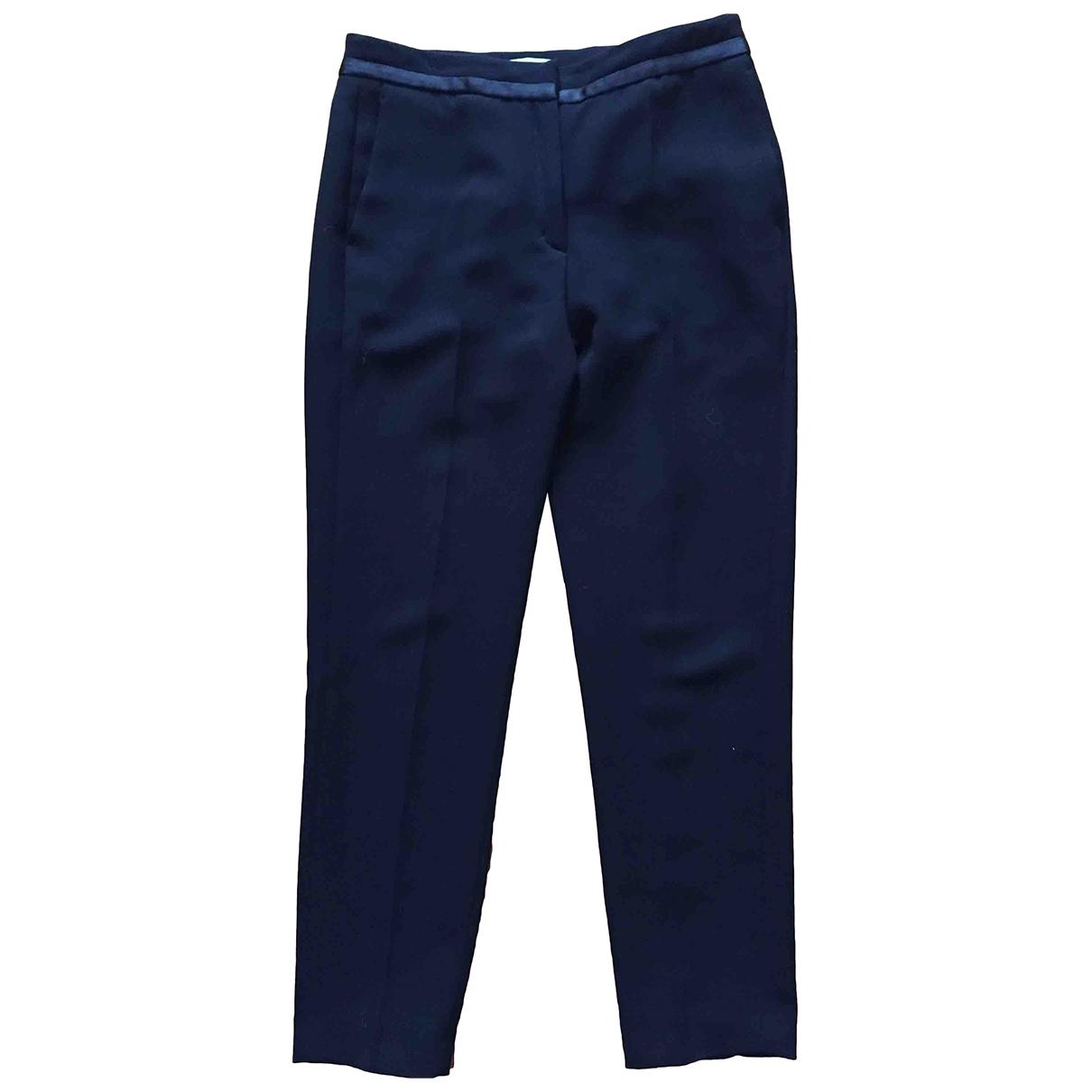 Sandro \N Black Trousers for Women 38 FR