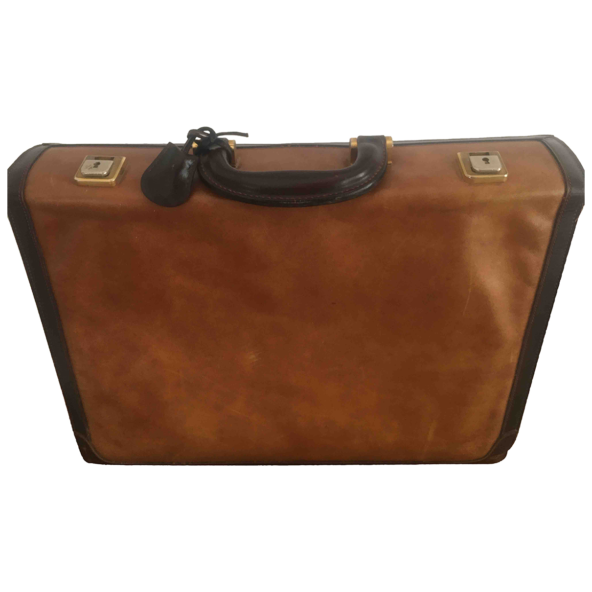 Loewe - Sac de voyage   pour femme en cuir - marron