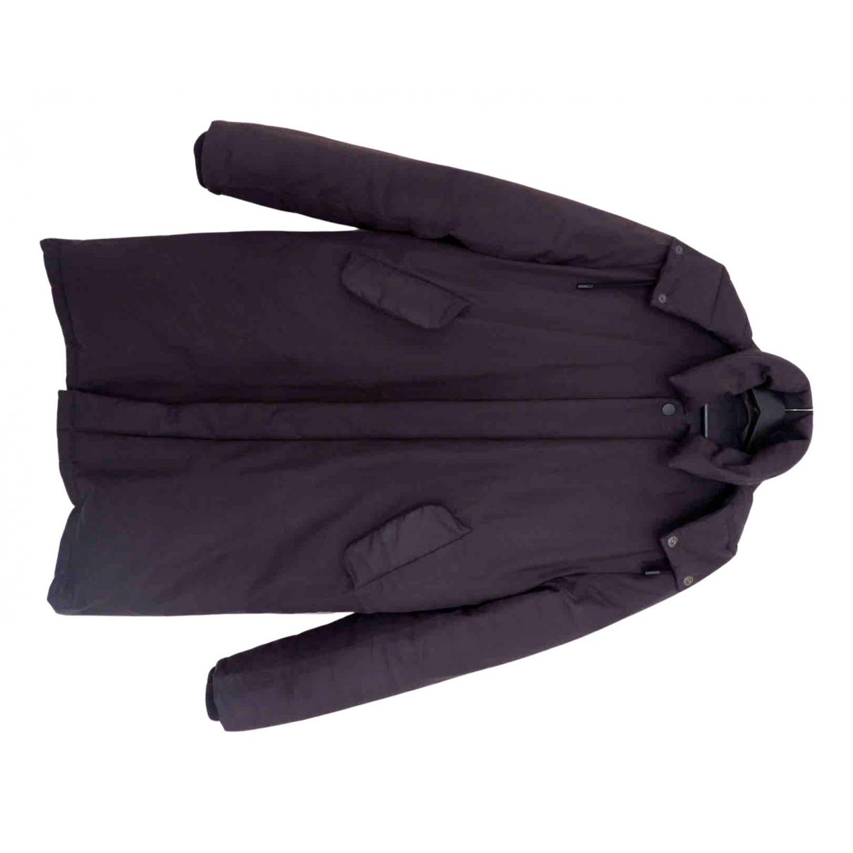 Acne Studios - Manteau   pour homme en coton - noir