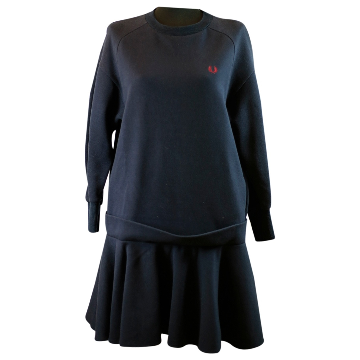 Fred Perry \N Blue Cotton dress for Women 42 IT