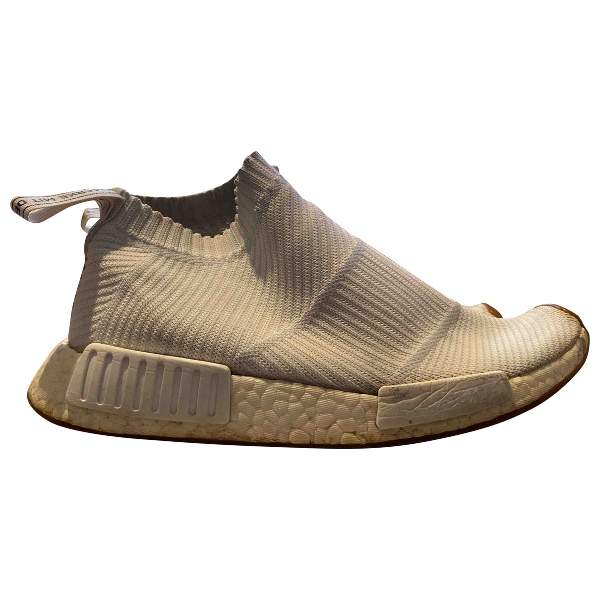 Adidas Nmd Sneakers in  Weiss Leinen
