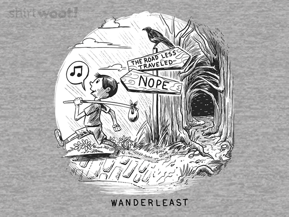 Wanderleast T Shirt