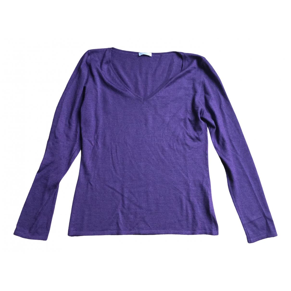 Brunello Cucinelli - Pull   pour femme en cachemire - violet