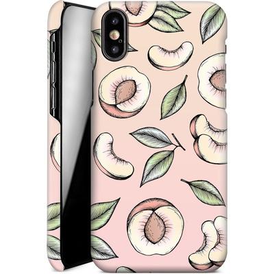 Apple iPhone XS Smartphone Huelle - Peach Please von Barlena