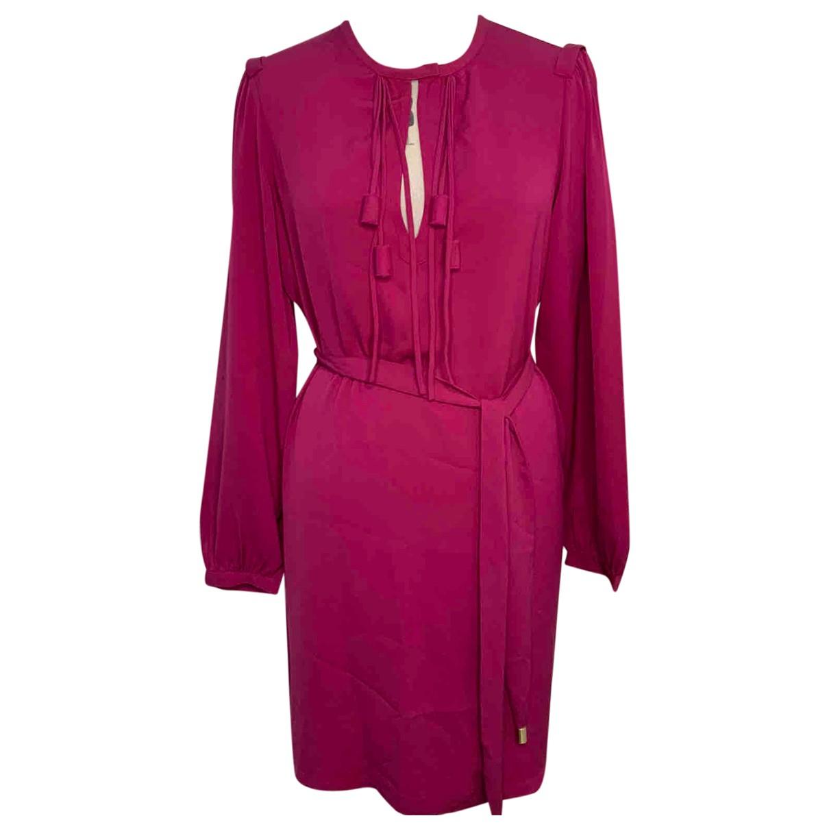 Diane Von Furstenberg N Pink Silk dress for Women 10 US