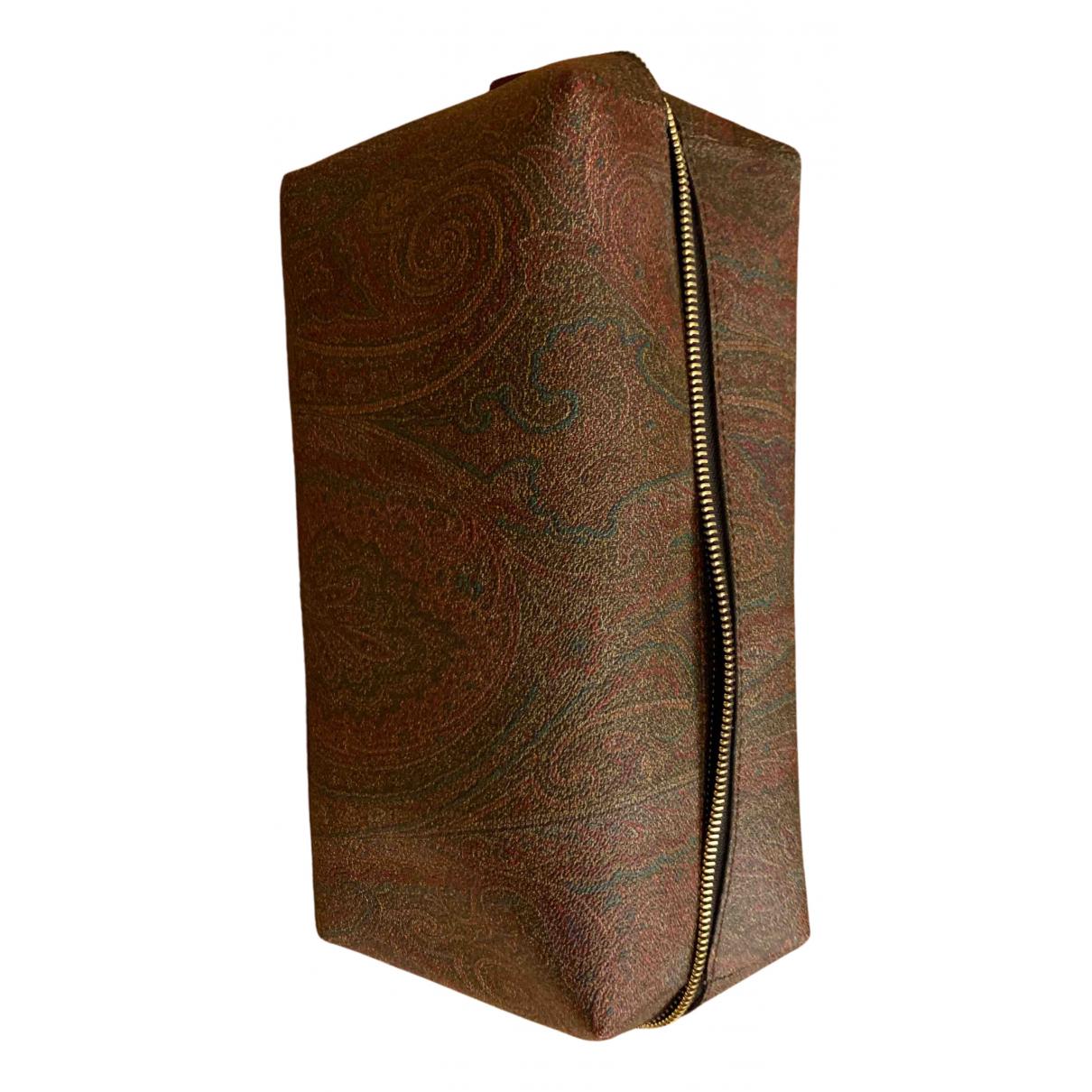 Etro - Petite maroquinerie   pour homme en cuir - bordeaux