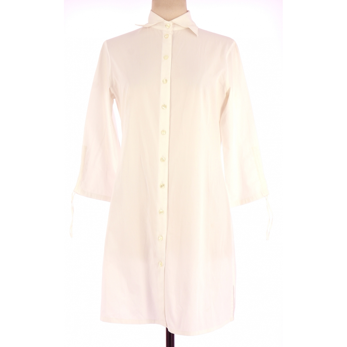 Anne Fontaine \N White Cotton dress for Women 38 FR