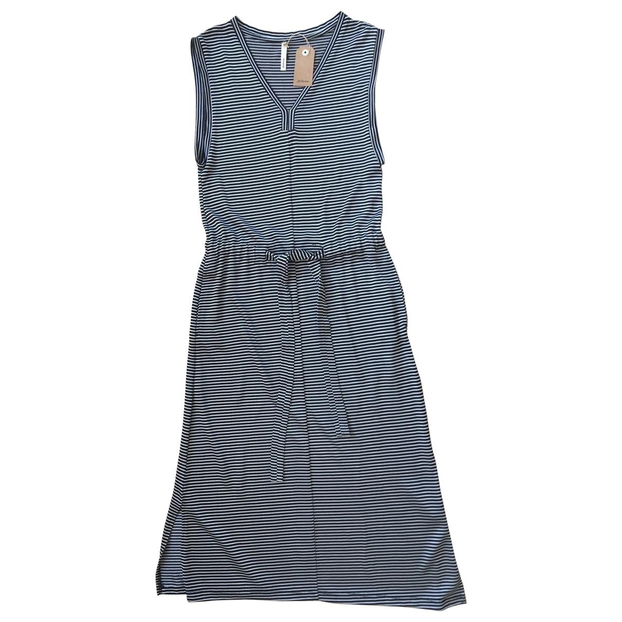 Bellerose \N Kleid in  Schwarz Viskose