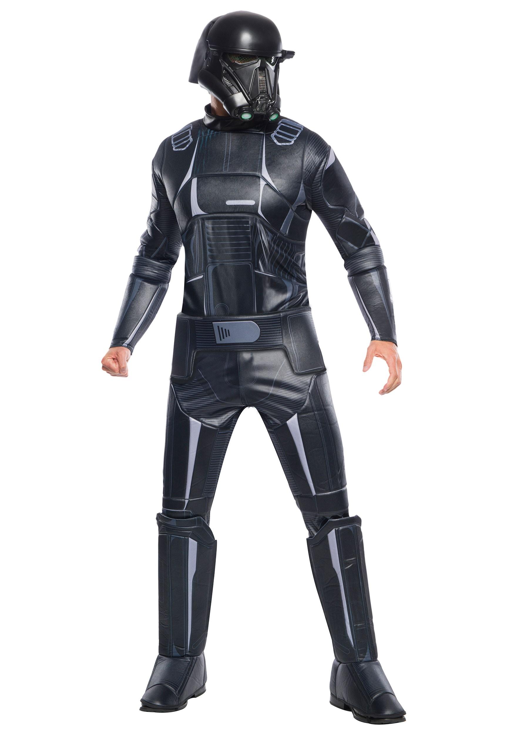 Super Deluxe Death Trooper Costume For kids