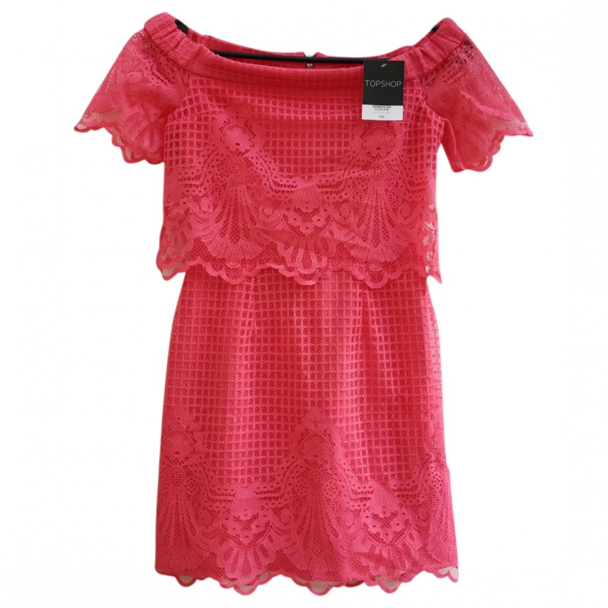 Topshop - Robe   pour femme - rose