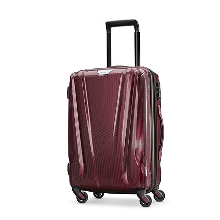 Samsonite Swerv Dlx 20 Hardside Spinner Luggage, One Size , Purple