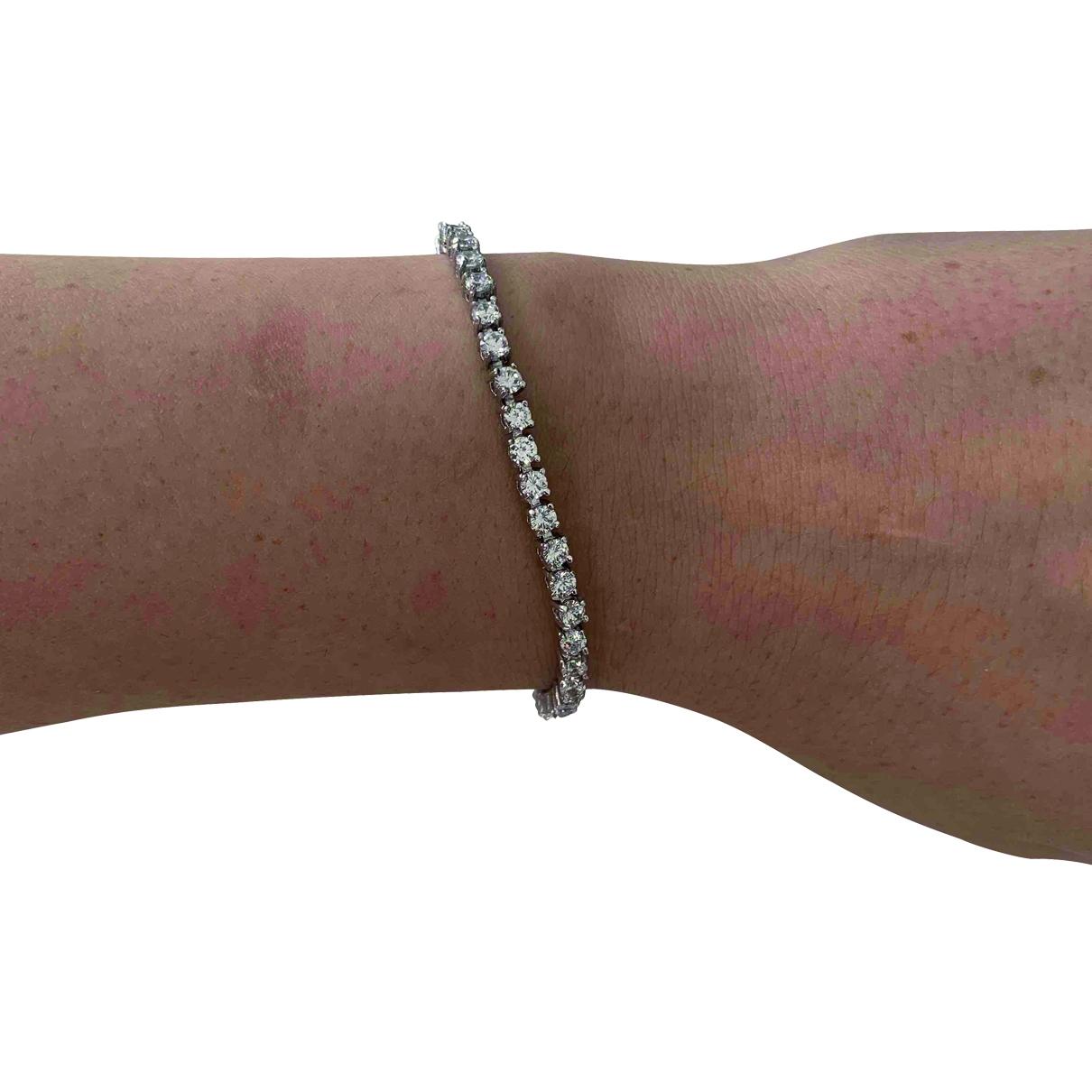424 \N Silver Steel bracelet for Women \N