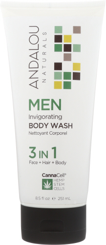 Men Invigorating Body Wash 8.5 Oz by Andalou Naturals