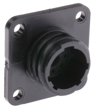 TE Connectivity Housing, 9 contacts Panel Mount Socket, Crimp
