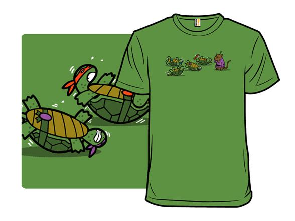 Turtle Training T Shirt