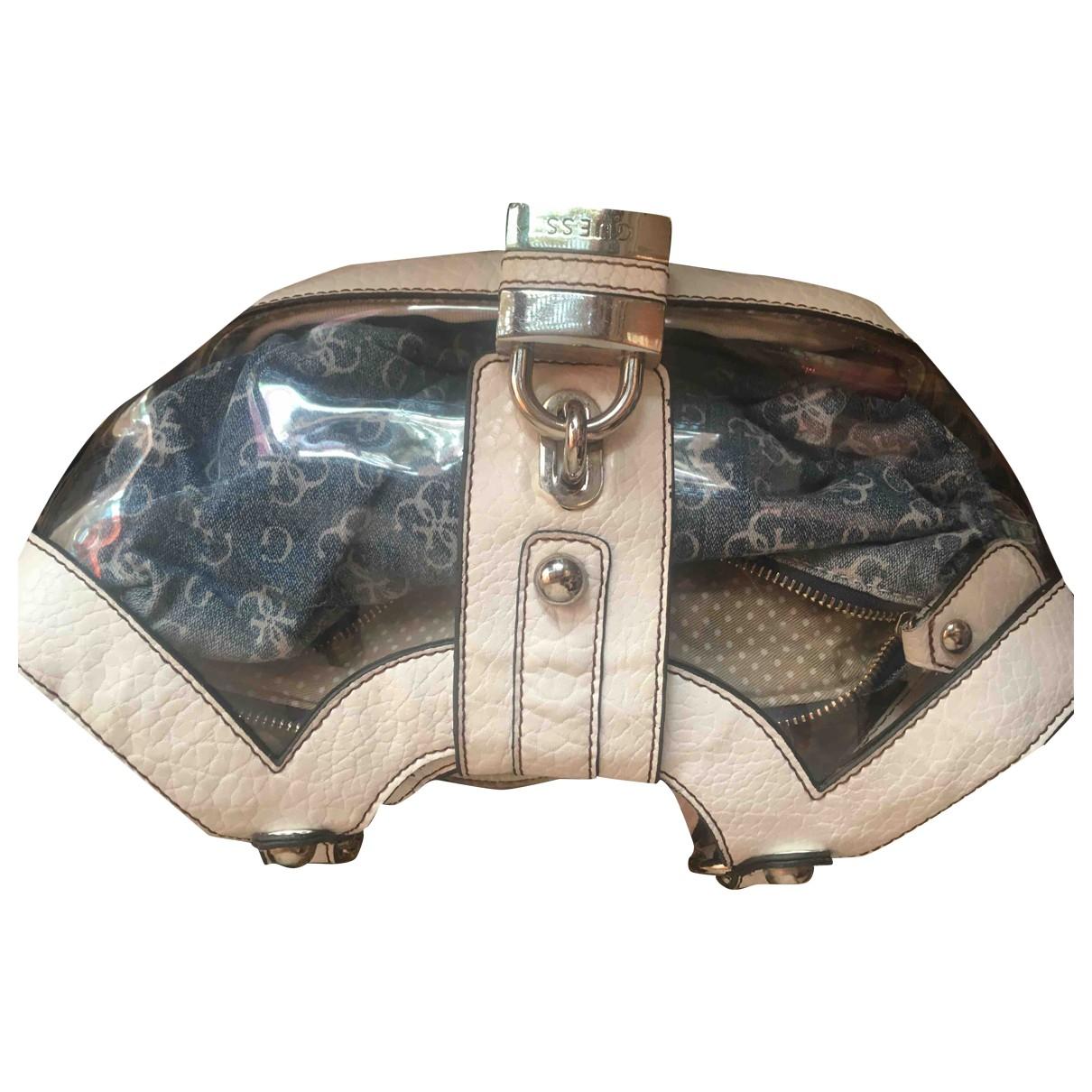 Guess \N White Denim - Jeans handbag for Women \N
