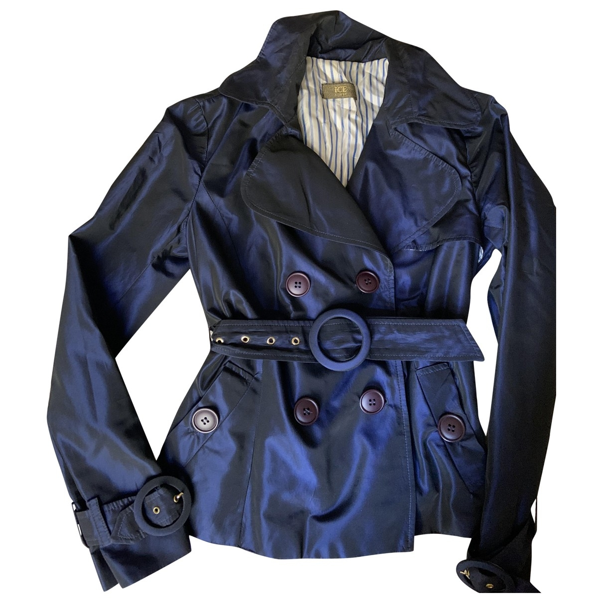 Iceberg \N Blue Cotton jacket for Women S International