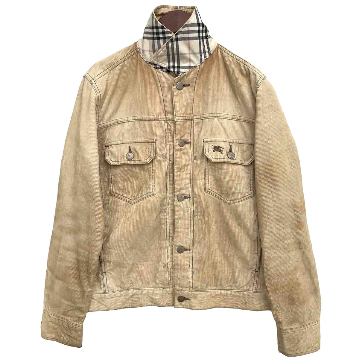 Burberry \N Jacke in  Braun Denim - Jeans